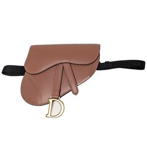 Dior Brown Saddle Bag